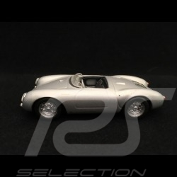 Porsche 550 Spyder 1954 silbergrau 1/43 Minichamps 430066030