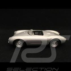 Porsche 550 Spyder 1954 silver grey 1/43 Minichamps 430066030