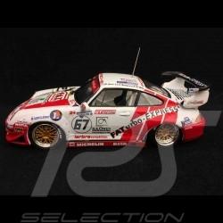 Porsche 911 type 993 GT2 Le Mans 1999 n° 67 1/43 Onyx XLM99027