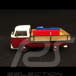 VW Combi T2a with soap boxes 1/43 Schuco 450333800
