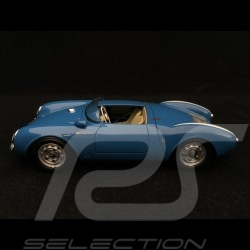 Porsche 550 Spyder bleu 1/43 Schuco 450886500