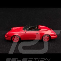Porsche 911 type 964 Speedster 1993 1/43 Spark S2042 rouge Indien India red Indischrot