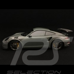Porsche 911 GT3 RS type 991 2017 1/18 Minichamps WAX02100030 gris China grey grau