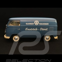 VW combi T1 transporteur Porsche Bully Pièces de rechange 1963 1/18 Welly 18053W bleu blue blau