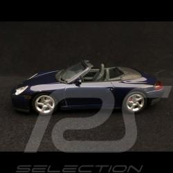 Porsche 911 type 996 Carrera 4S Cabriolet 2003 blau 1/43 Minichamps 400062832
