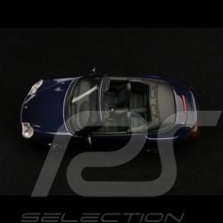 Porsche 911 type 996 Carrera 4S Cabriolet 2003 blue 1/43 Minichamps 400062832
