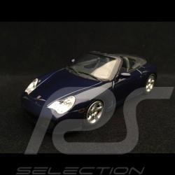 Porsche 911 type 996 Carrera 4S Cabriolet 2003 1/43 Minichamps 400062832 bleu blue blau