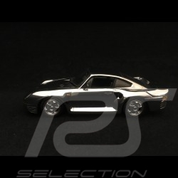 Porsche 959 1986 chrome 1/43 Minichamps WAP02060316