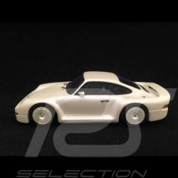 Porsche 959 Prototype groupe B 1983 1/43 Spark S0959 blanc nacré pearly white perlweiß