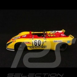 Porsche 908 02 Le Mans 1971 n° 60 Usdau 1/43 Spark S1981