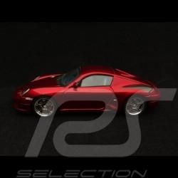 Porsche RUF RK coupé 2006 1/43 Spark S0709 rouge métallisé red metallic rot