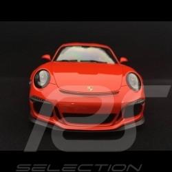 Porsche 911 GT3 RS type 991 phase 1 2015 1/18 Minichamps 155066220 orange fusion lava