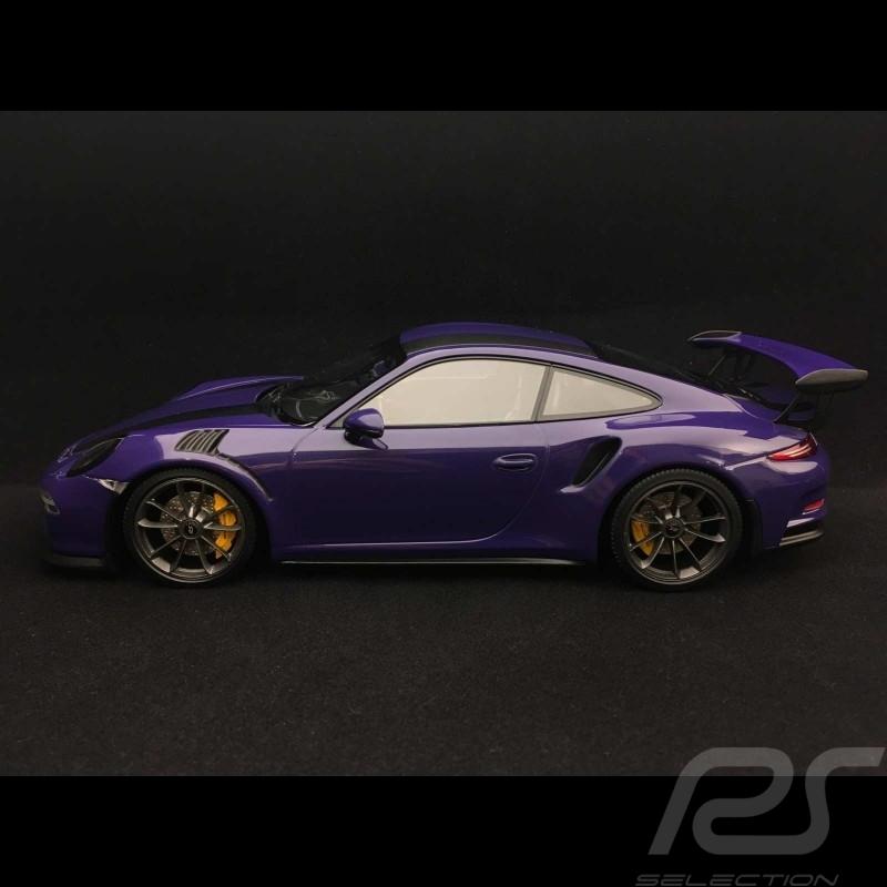 Porsche 911 GT3 RS type 991 phase 1 2015 ultra violet 1/18 Minichamps 155066226