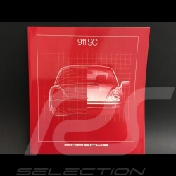 Brochure Porsche 911 SC en anglais 1981 ref W737116031