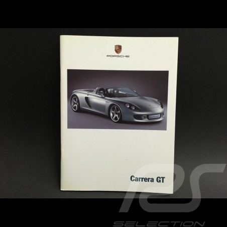 Porsche Broschüre Carrera GT englisch und deutsch 2000 ref WVK178812