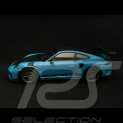 Porsche 911 GT3 RS type 991 Phase ll 2018 Miami blue 1/43 Minichamps WAP0201610J