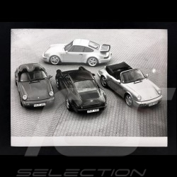 Photo Porsche gamme 1994 noir et blanc 1994 range black and white Bereich schwartz und weiß