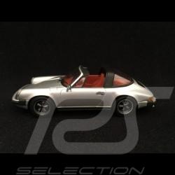 Porsche 911 2.7 Targa 1977 gris argent 1/43 Minichamps