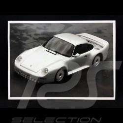 Porsche Foto 959 Gruppe B Studie schwarz und weiß