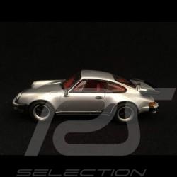 Porsche 911 type 964 Turbo 1990 gris argent 1/43 Minichamps