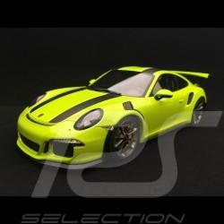 Porsche 911 GT3 RS type 991 phase 1 2015 1/18 Minichamps 153066225 vert lumière light green hellgrün