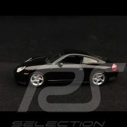 Porsche 911 type 996 Carrera 4S 2003 noire 1/43 Minichamps 400061070