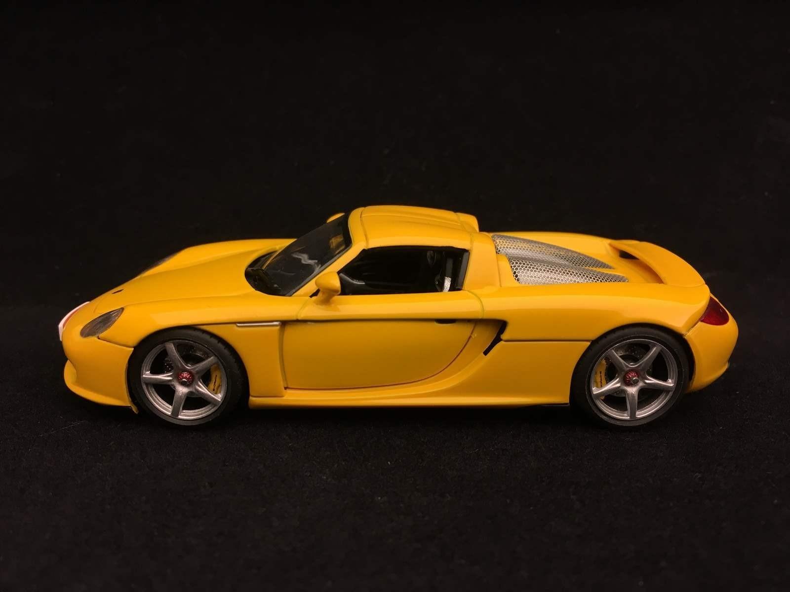 Porsche Carrera Gt 2003 Speed Yellow 1 43 Autoart 58044 Selection Rs