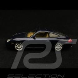 Porsche 911 type 996 Carrera phase II 2002 1/43 Minichamps WAP02007812 bleu Lapis Lazuli Lapis blue Lapis blau