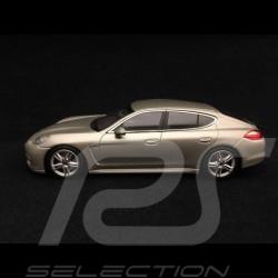Porsche Panamera Turbo 2009 silver grey 1/43 Minichamps WAP02000519
