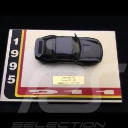 Porsche 911 type 993 Carrera RS 1995 1/43 Miniatures du Château Gris ardoise métallisé Slate grey metallic Schiefergrau metallic