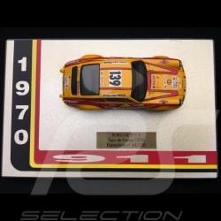 Porsche 911 S/T 2.4 Tour de France 1970 n° 139 1/43 Miniatures du Château
