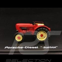 Porsche Diesel Tracteur Junior 1/43 Schuco 02612 avec siège passager with passenger seat mit Beifahrersitz