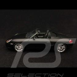 Porsche 986 Boxster S Fulda 2002 noir mat 1/43 Minichamps 436062072