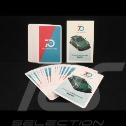 Jeu de cartes Porsche Quartet jeu d'atouts 70 ans Porsche 1948 - 2018 Porsche Design MAP10700118 card game trump kartenspiel kwa