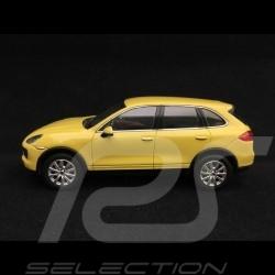 Porsche Cayenne S 2011 yellow 1/43 Minichamps WAP0200060B