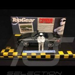 Porsche 911 type 997 Turbo Cabriolet mk II 2009 gris meteor Top Gear 1/43 Minichamps 519436930