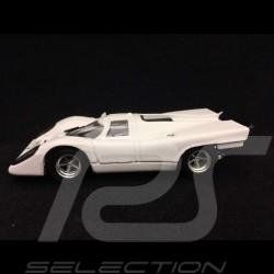 Porsche 917 Street version 1975 Joachim Grossbad 1/43 Brumm R385C blanc white weiß