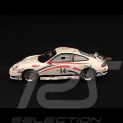 Porsche 911 GT3 Cup type 996 vainqueur winner sieger challenge Ales 2008 n° 14 Dumas 1/43 Spark MX017