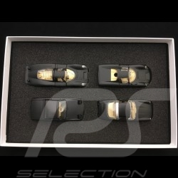 Set Porsche RAK 911 Targa / 914 / 907 / 910 1/43 Märklin MAP05001008 noires / phares cristal black / crystal headlights schwarz