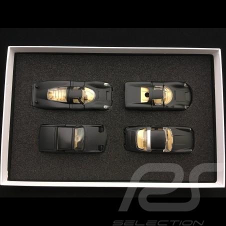Set Porsche RAK 911 Targa / 914 / 907 / 910 black / crystal headlights 1/43 Märklin MAP05001008