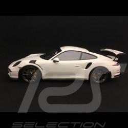 Porsche 911 GT3 RS type 991 phase 1 2015 1/18 Minichamps 153066224 blanche white weiß