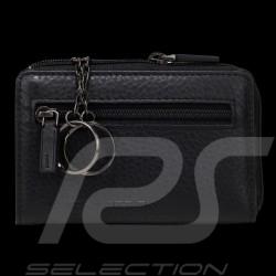 Etui porte-clés Porsche cuir noir Cervo 2.1 Porsche Design 4090002441 key ring black leather Schlüsselanhänger schwarze leder