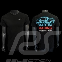 Porsche T-shirt 917 LH Le Mans 1971 n° 21 Martini Racing black Porsche Design WAP870 - men