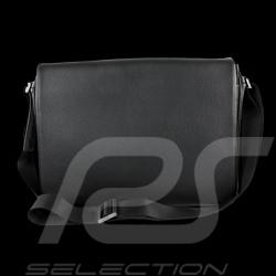 Sac Porsche Laptop / Messenger Cervo 2.0 Porsche Design 4090001801 cuir noir black leather shoulder baf schwarze leder tasche