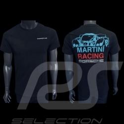 T-shirt Porsche 917 LH Le Mans 1971 n° 21 Martini Racing bleu foncé Porsche Design WAP871 - homme