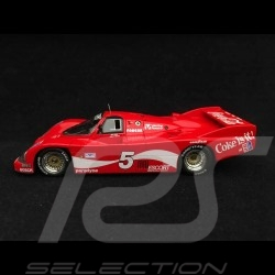 Porsche 962 Long-Tail 24h Daytona 1985 n° 5 Coca-Cola 1/43 TrueScale TSM09432