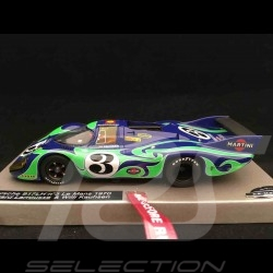 Slot car Porsche 917 LH Le Mans 1970 n° 3 Martini hippie car 1/32 Le Mans miniatures 1320703M