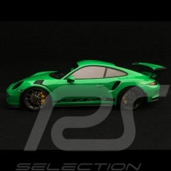 Porsche 911 GT3 RS type 991 Mk 1 2015 viper green 1/18 Minichamps 153066228