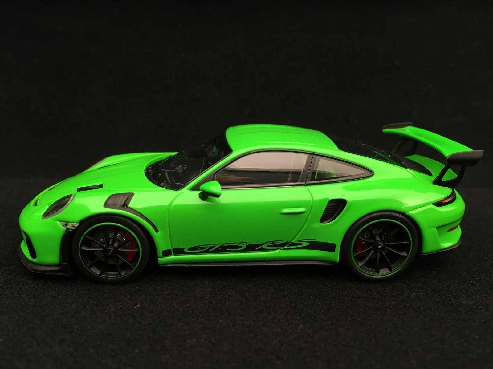 Porsche 911 Gt3 Rs Type 991 Mk Ll 2018 Lizardgrün 1 43 Minichamps Wap0201590j Selection Rs