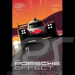 Poster Porsche 919 The Porsche Effect - Petersen Automotive Museum - Rare !